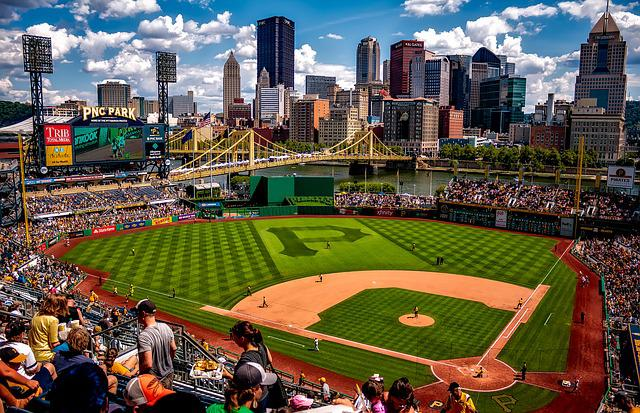 Pnc Park, Pittsburgh, Pennsylvania, City, Cities, Urban