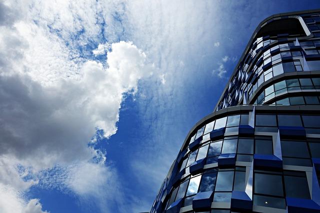 High Rise, Skyscraper, Tall, Glass, Urban, Office