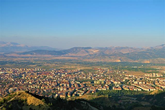 Isparta, Turkey, City, Landscape, Travel, Sky, Urban