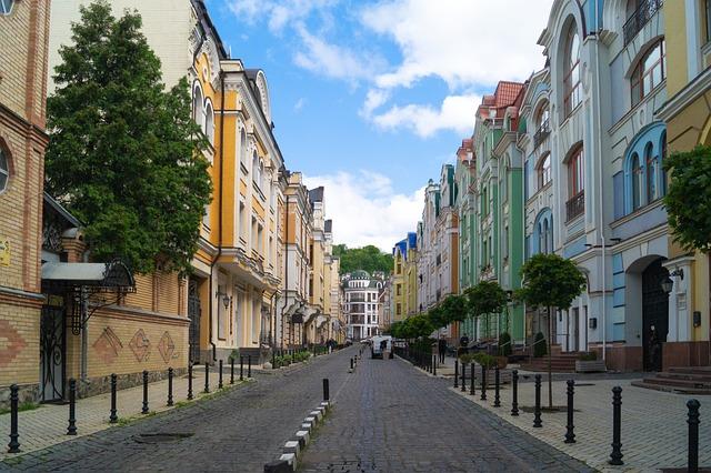 Ukraine, Kiev, City, Architecture, Building, Urban