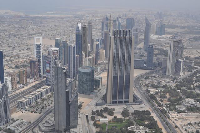 Dubai, City, View, Urban Landscape, Skyscraper