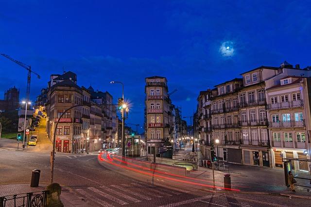 City, Road, Architecture, Travel, Dusk, Urban Landscape