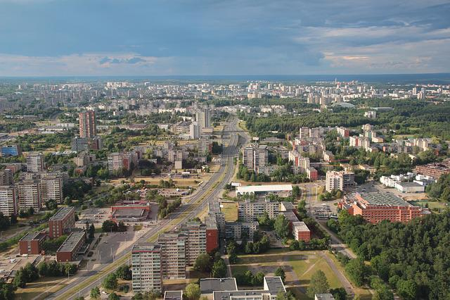 Vilnius, Lithuania, Urban Landscape, Eastern Europe