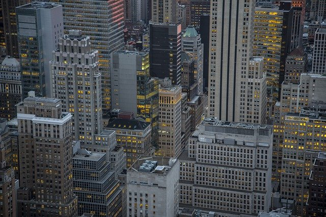 Buildings, Skyscapers, New York, Urban, City, Nyc
