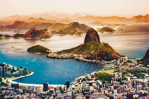 Rio De Janeiro, Brazil, City, Urban, Tourism, Coastline