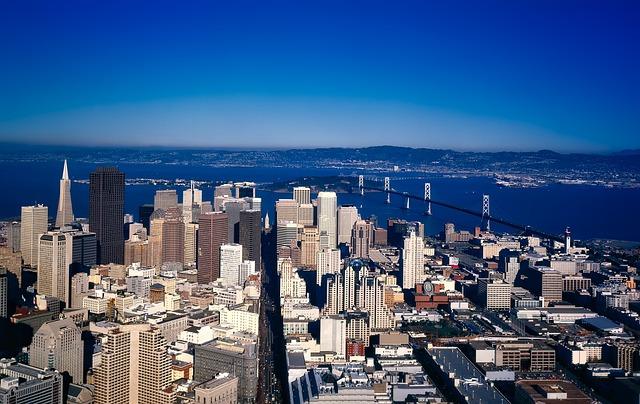 San Francisco, City, Urban, Buildings, Skyscrapers