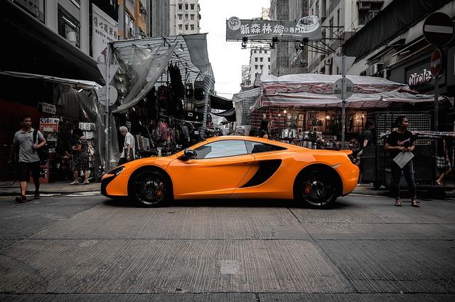 Maclaren, Car, City, Hongkong, Urban, Street, Hong