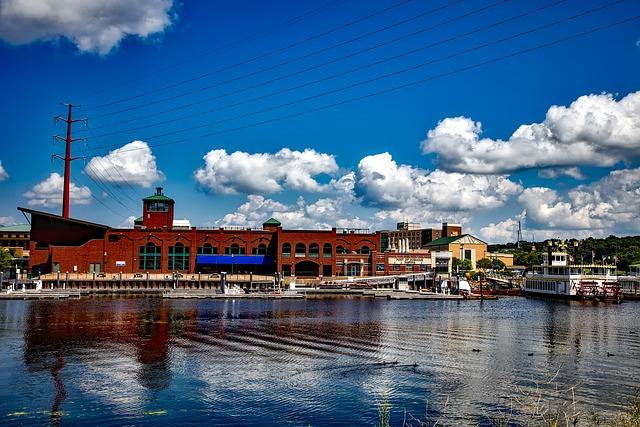 Dubuque, Iowa, City, Urban, Town, Mississippi River