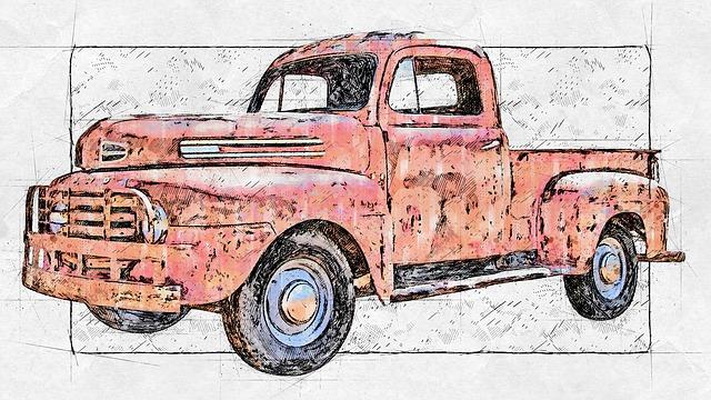 Us Car, Old, Vintage, Oldtimer, Classic, Old Car, Retro