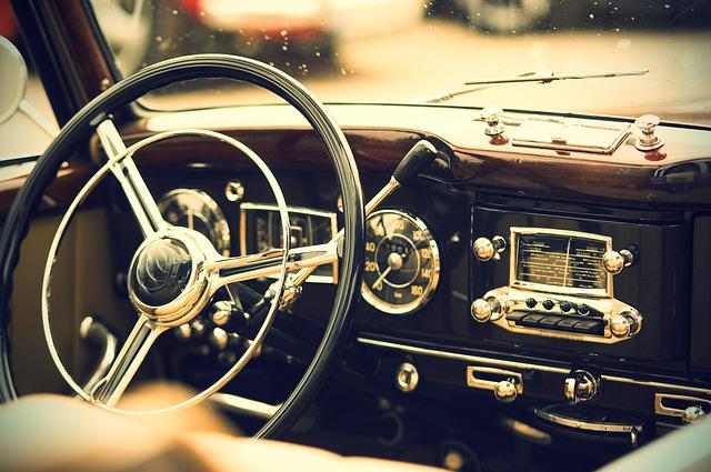 Oldtimer, Interior, Us Vehicle, Auto, Vehicle, Classic