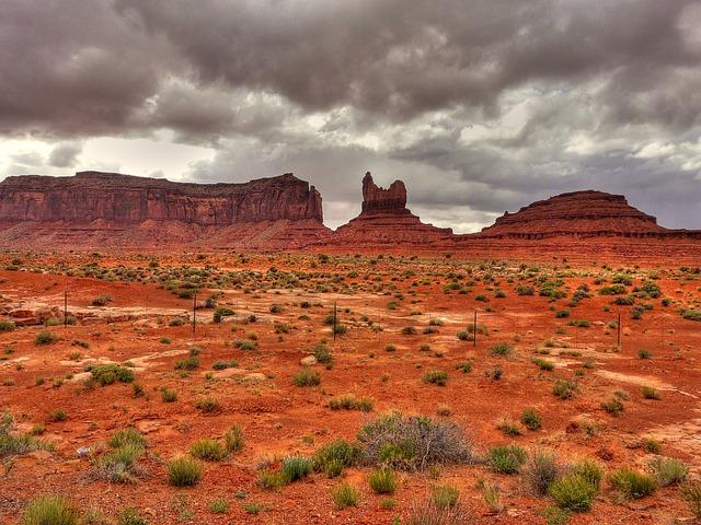 Monument Valley, Kayenta, Arizona, Usa, Mountain