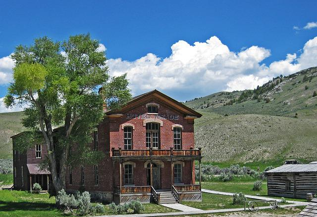 Montana, Usa, Bannack, Ghost Town, Old West, Travel