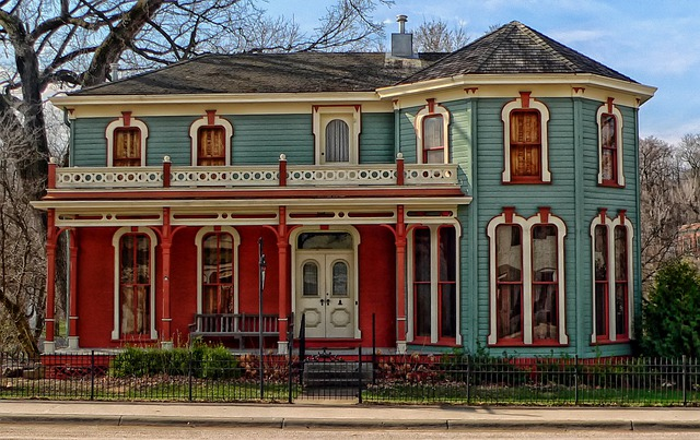 House, Home, Brownville, Nebraska, Usa, Hdr