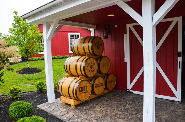Usa, Kentucky, Destille, Distillery, Jim Beam, America