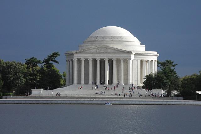 Washington Monument, Washington Dc, Lake, Building, Usa
