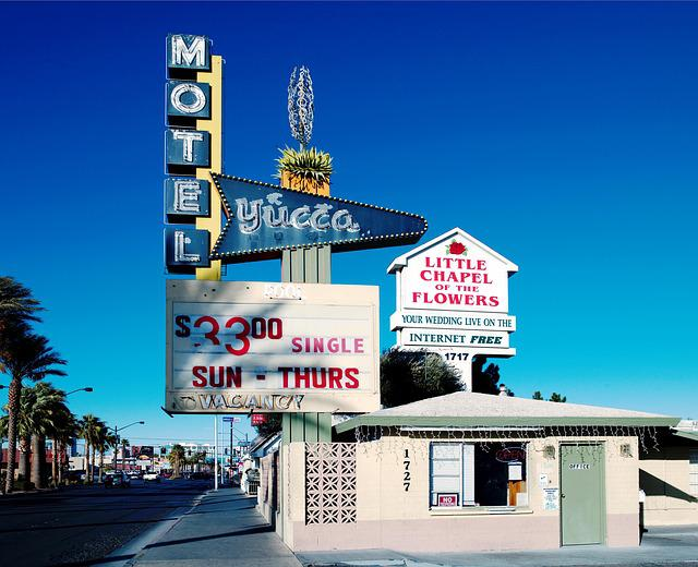 Motel, Usa, America, Home, United States