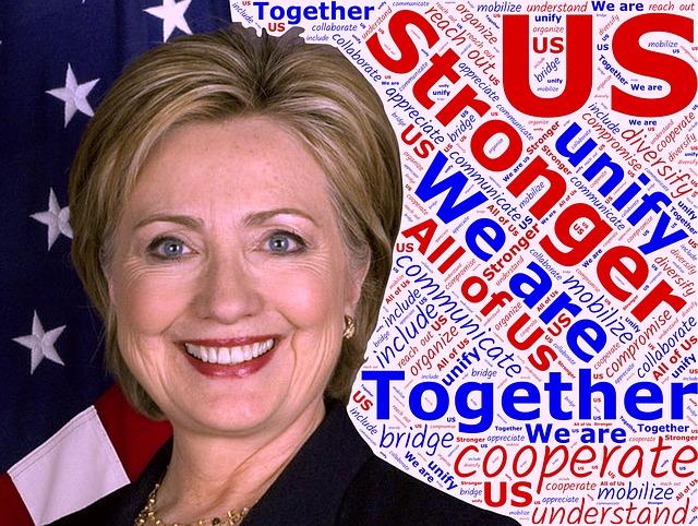 Hillary, Clinton, President, Usa, America, Strong
