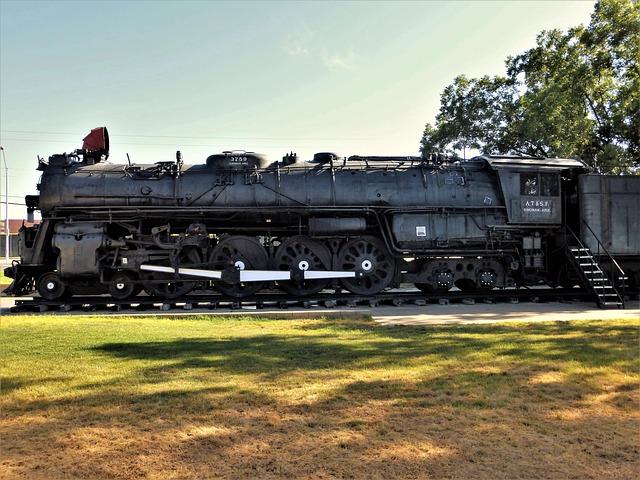 Transport, Usa, Vehicle, Train, Engine, Track