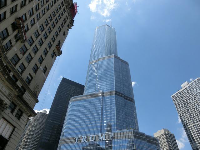 Chicago, Trump, Usa, United States, America