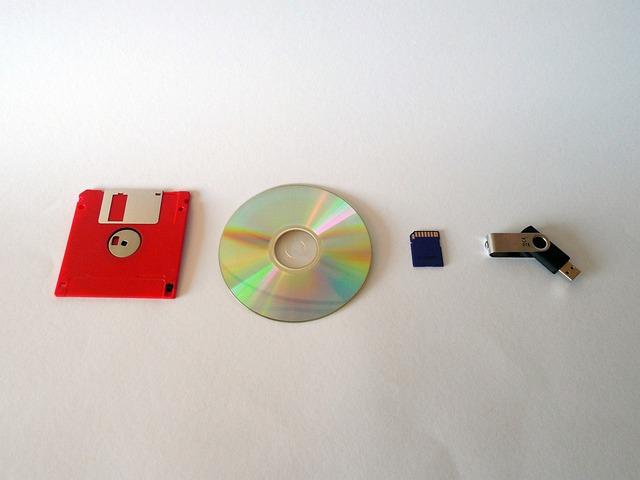 Memory, Data, Floppy Disk, Cd, Dvd, Usb, Storage Medium