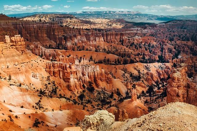 Bryce Canyon, National Park, Utah, Landscape, Desert