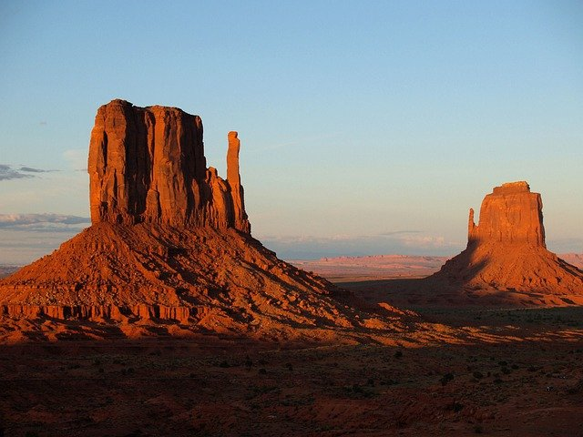 Monument Valley, Utah, Usa, Red, Rocks