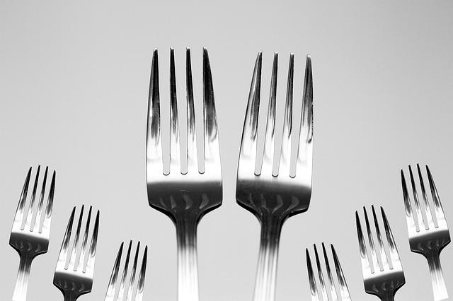 Fork, Utensils, Kitchen, Food, Restaurant, Knife