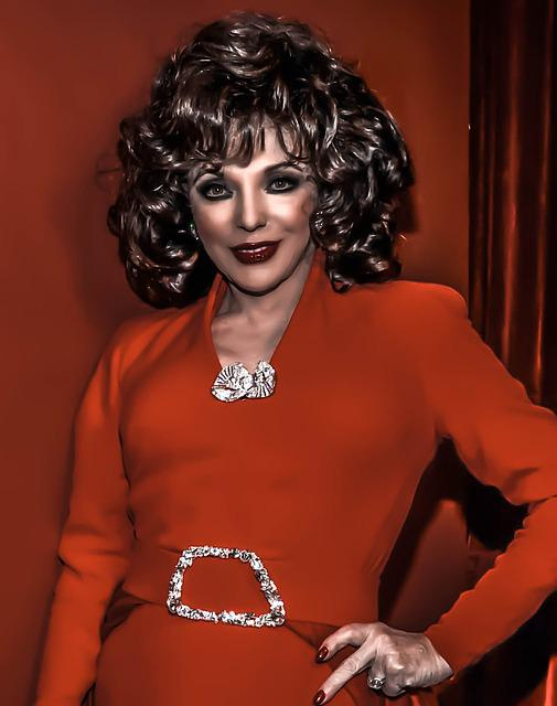 Joan Collins-hollywood, Film, T, V, Actress, Author