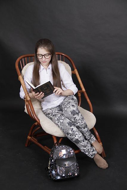Study, Vacation, Reading, Girl, Education, Literature