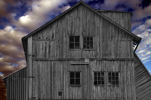 Home, Vacation, Building, Hut, Blue, Grey, Grey Blue