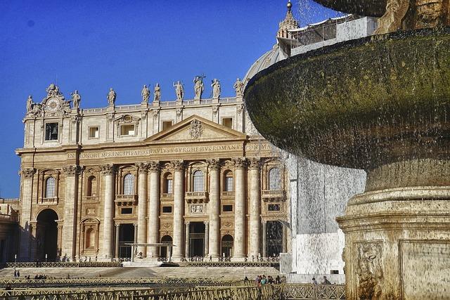 Saint Peters Basílica, Rome, Italy, Vacation