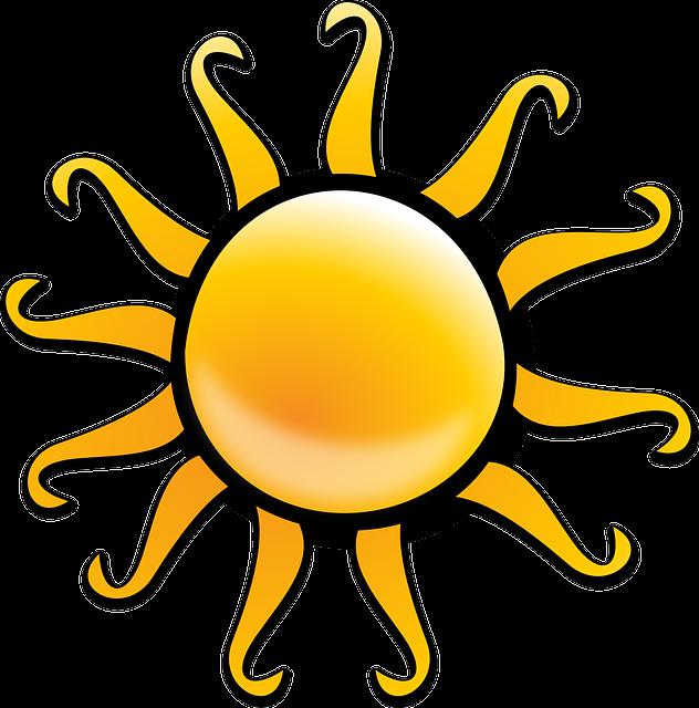 Sun, Summer, Sunlight, Vacation, Warmth, Sunrays