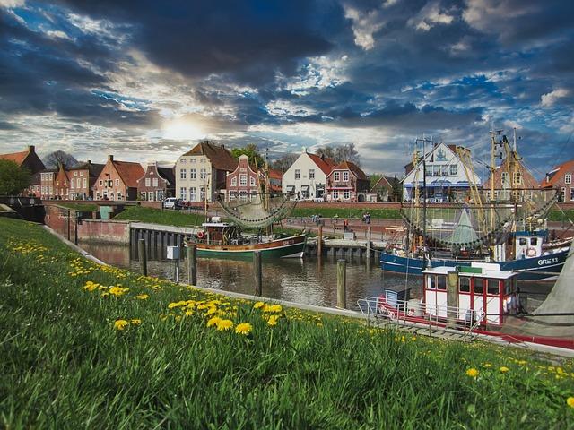 Greetsiel, Vacations, East Frisia, North Sea