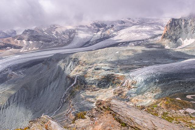 Landscape, Mountains, Glacier, Alpine, Valais