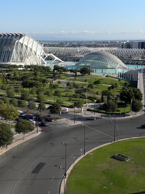 Valencia, Architecture, City, Calatrava, Modern