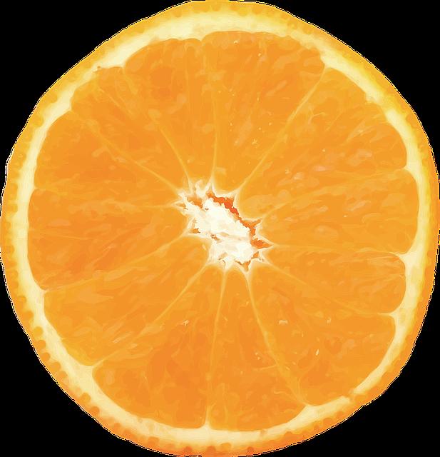 Orange, Vector, Fruit, Citrus, Food, Valencia