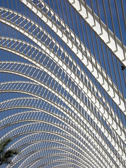 Valencia, Architecture, Pergola, Structure