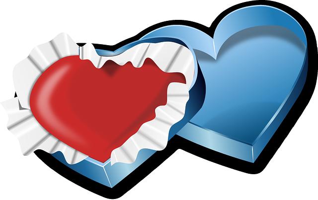 Box, Heart, Love, Valentine, Red, Romantic, Present