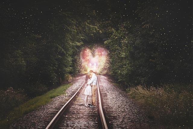 Valentine, Love, Couple, Vias, Landscape