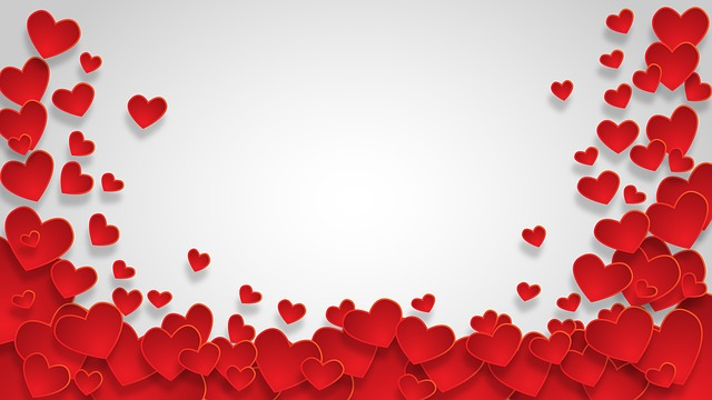 Heart, Shape, Background, Love, Valentine, Design