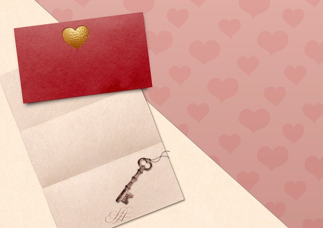 Heart, Paper, Key, Envelope, Letters, Valentine's Day