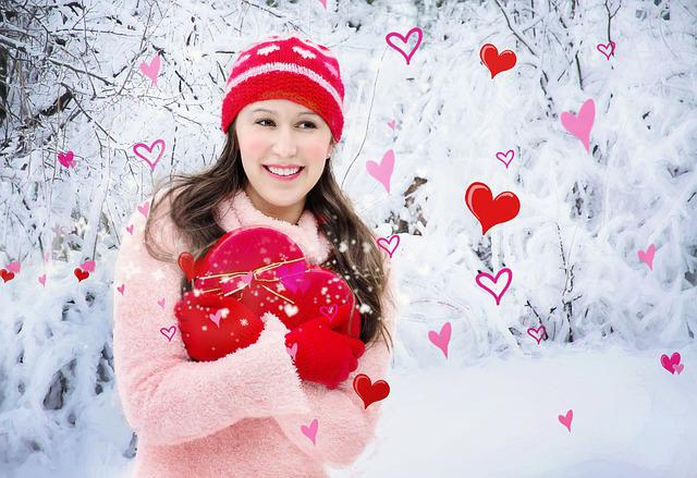 Valentine's Day, Valentine, Heart, Pretty Girl, Love