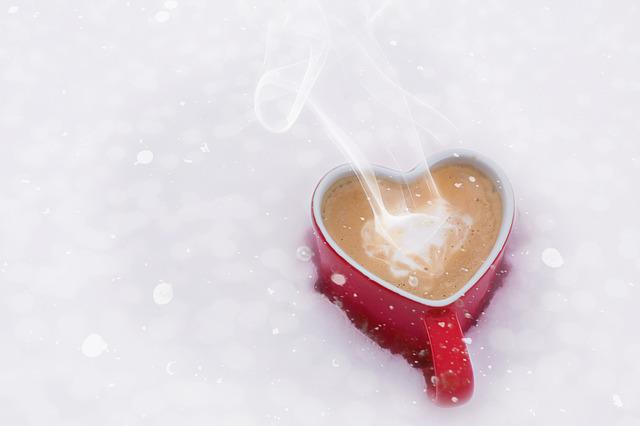 Valentine's Day, Valentine, Love, Coffee, Heart Mug