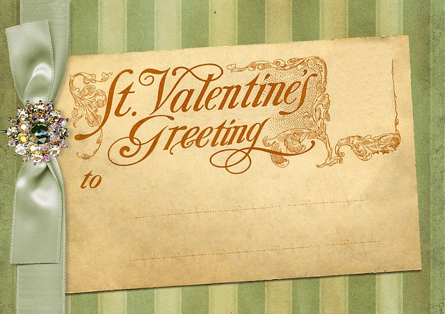 Vintage, Valentine's Day, Greeting Card, Post Card