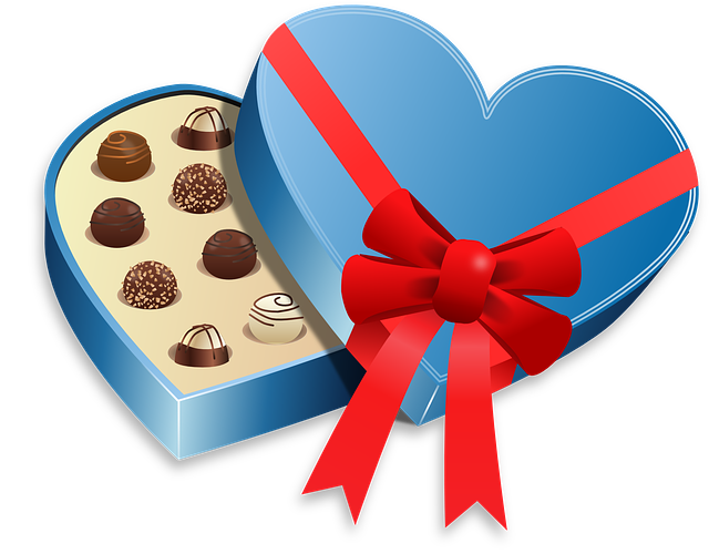 Box, Food, Love, Pralines, Sweet, Valentines, Romantic