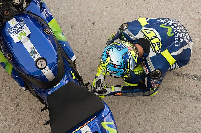 Motogp, Valentino Rossi, Race, Motorcycle, Sample