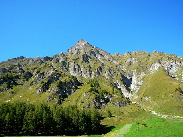 Switzerland, Landscape, Scenic, Mountains, Valley