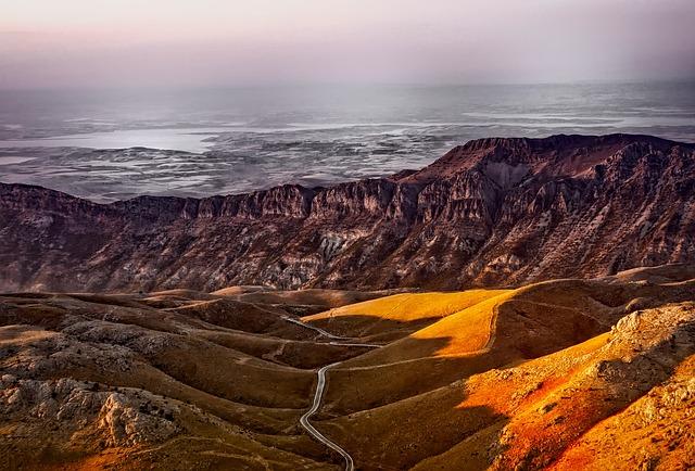 Turkey, Mountains, Landscape, Road, Valley, Ravine