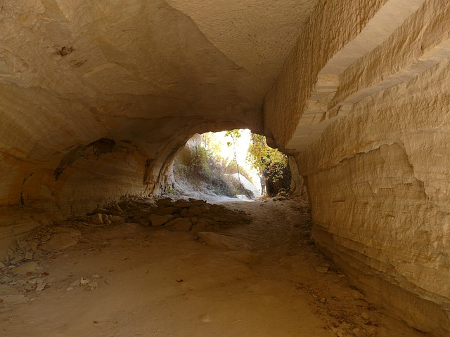 Valley Of Roses, Cappadocia, Cave, Breakthrough, Tunnel