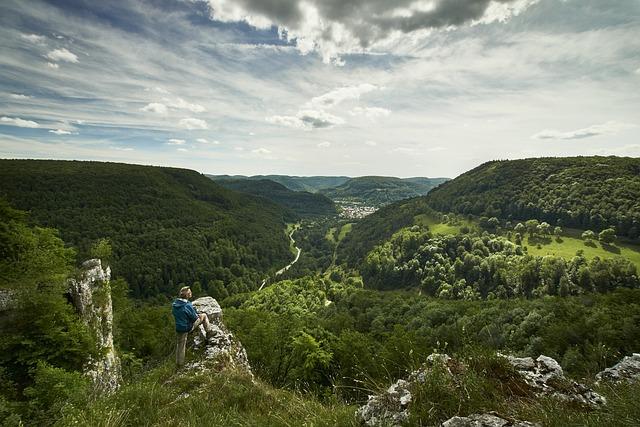 Valley, Swabian Alb, Johans-ruh, Landscape, Alb, Sky
